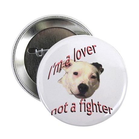 """Moo the Pitboo Spreads Dog Fi 2.25"""" Button"""