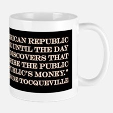 DeTocqueville on the American Republic Mug