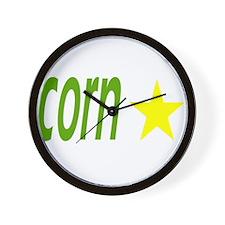 YAY for Corn! Wall Clock