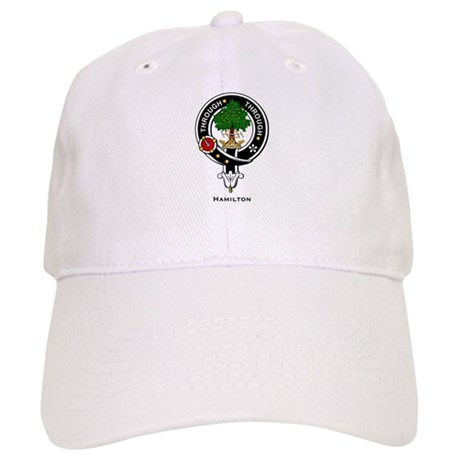 Hamilton Clan Crest Badge Cap