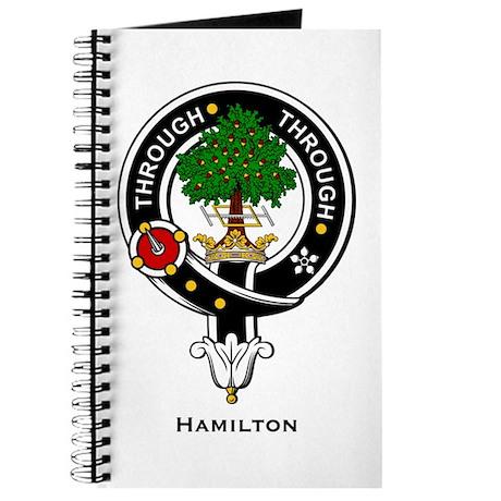 Hamilton Clan Crest Badge Journal