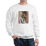 Pastel Drawing PAWS Tiger Sweatshirt