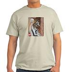 Pastel Drawing PAWS Tiger Light T-Shirt
