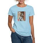 Pastel Drawing PAWS Tiger Women's Light T-Shirt