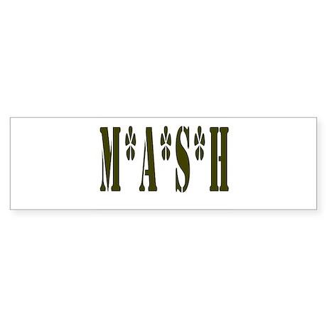 MASH Sticker (Bumper)