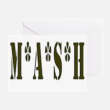 MASH Greeting Card