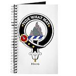 Haig Clan Crest Badge Journal