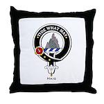 Haig Clan Crest Badge Throw Pillow