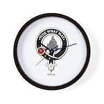 Haig Clan Crest Badge Wall Clock