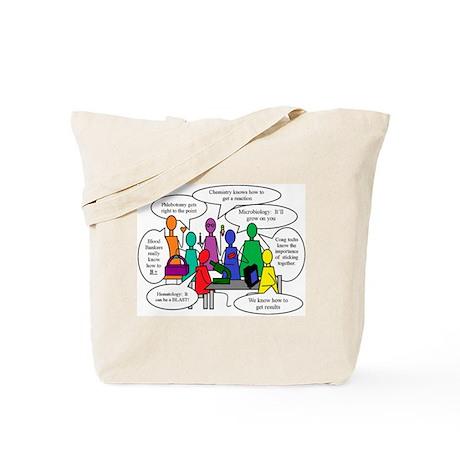 National Lab Week, Team Humor, Tote Bag