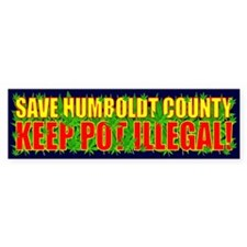 Save Humboldt County Bumper Sticker