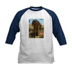 Gypsy the Asian Elephant Kids Baseball Jersey