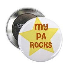 "MY PA ROCKS 2.25"" Button (10 pack)"