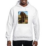Gypsy the Asian Elephant Hooded Sweatshirt