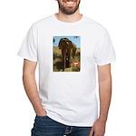 Gypsy the Asian Elephant White T-Shirt
