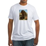 Gypsy the Asian Elephant Fitted T-Shirt