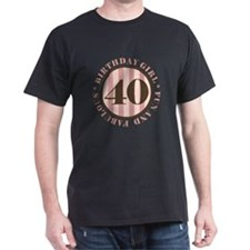 Fun & Fabulous 40th Birthday T-Shirt