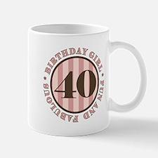 Fun & Fabulous 40th Birthday Mug