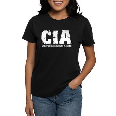 CIA Central Intelligence Agen Women's Dark T-Shirt