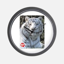 Majesty the Tiger Wall Clock