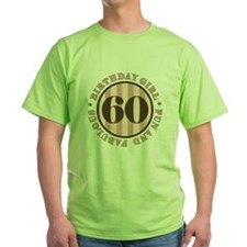 Fun & Fabulous 60th Birthday T-Shirt