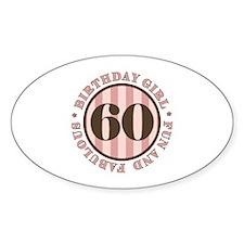 Fun & Fabulous 60th Birthday Decal
