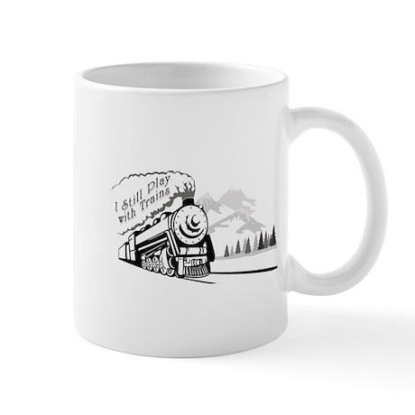 Still Play with Trains Mug