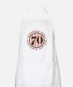 Fun & Fabulous 70th Birthday Apron