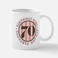 Fun & Fabulous 70th Birthday Mug