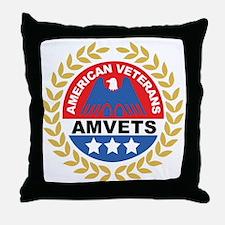 American Veterans Throw Pillow