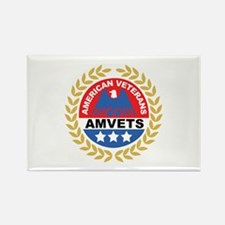 American Veterans Rectangle Magnet