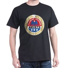 American Veterans Black T-Shirt