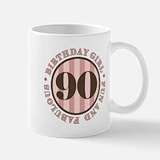 Fun & Fabulous 90th Birthday Mug
