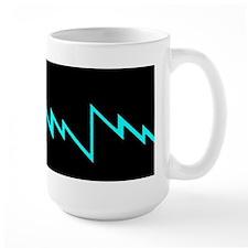 Large Lighting Bolt Mug
