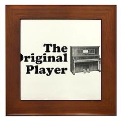 The Original Player Framed Tile