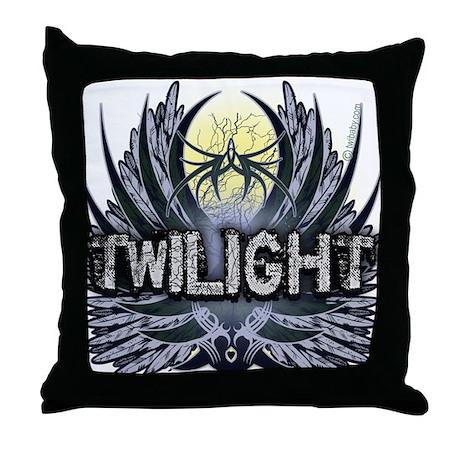 Twilight New Blue Throw Pillow