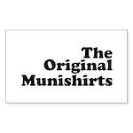 The Original Munishirts Sticker (Rectangle 10 pk)