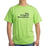 The Original Munishirts Green T-Shirt