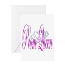 Prom Queen Greeting Card