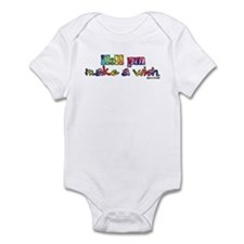 11:11 pm Make A Wish Infant Bodysuit
