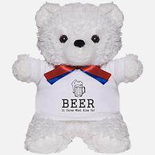 Beer Cures Teddy Bear