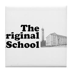The Original iSchool Tile Coaster