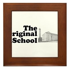 The Original iSchool Framed Tile