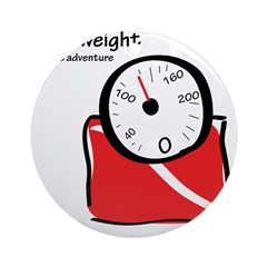 Lose weight Ornament (Round)