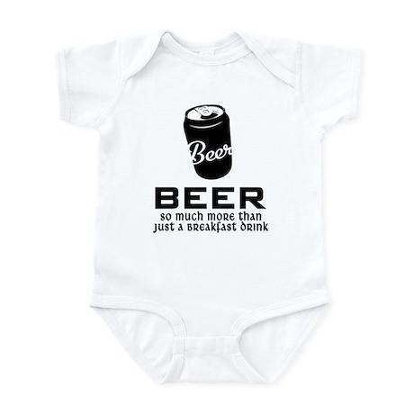 Breakfast Drink Infant Bodysuit