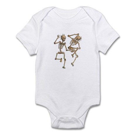 Dancing Skeletons Infant Bodysuit