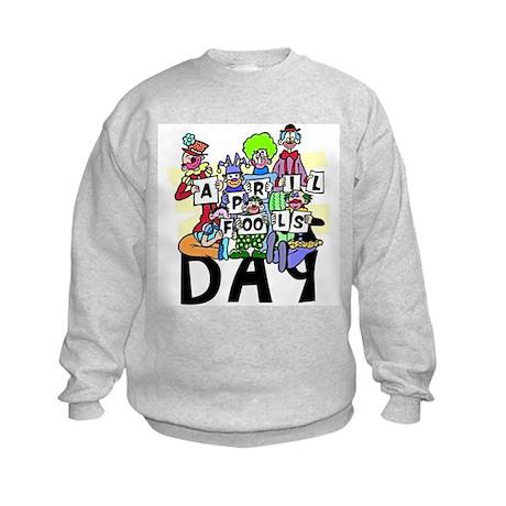 April Fools Day Kids Sweatshirt