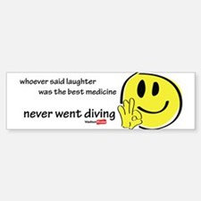 Laughter best medicine Sticker (Bumper 10 pk)