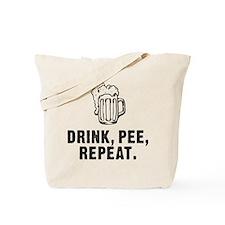 Drink Pee Repeat Tote Bag