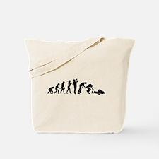 Evolution Of Drunk Tote Bag